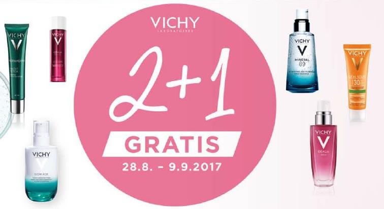Vichy 2+1 gratis Aktion